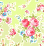 LECIEN - Antique Flower Pastel - Green