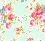 LECIEN - Antique Flower Pastel - Blue