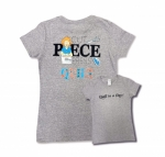 Gray Large Cut Piece Press & Quilt T-Shirt