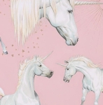 ALEXANDER HENRY - Stars of the Unicorn - Pink