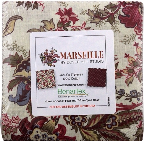 Benartex - Marseille 5X5 pack