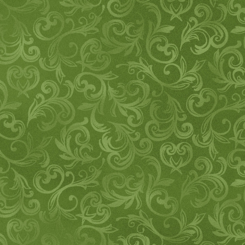 MAYWOOD STUDIO - Pearl Essence - Scroll Green