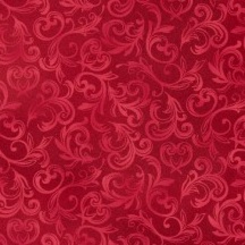MAYWOOD STUDIO - Pearl Essence - Scroll Red