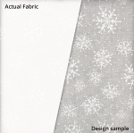 MAYWOOD STUDIO - Solitaire Whites - Snowflakes - W77-