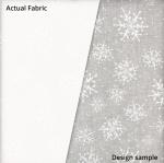 MAYWOOD STUDIO - Solitaire Whites - Snowflakes - W77-