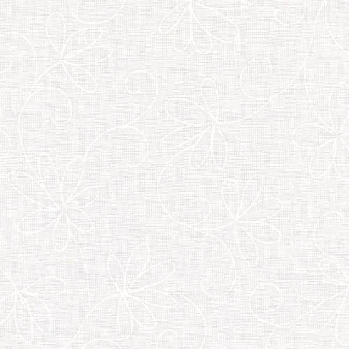 MAYWOOD STUDIO - Solitaire Whites - Floral - W81-