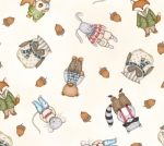 MAYWOOD STUDIO - Forest Friends - Multi - Cream