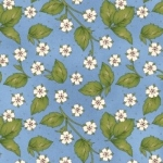 MAYWOOD STUDIO - From The Farm - Strawberry Blossom - Blue