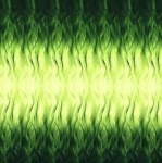 MAYWOOD STUDIO - Rejuvenation - Green Ombre