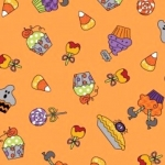 MAYWOOD STUDIO - Broomhilda's Bakery - Multi - Orange