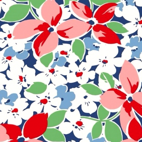 MAYWOOD STUDIO - Hi-De-Ho - Large Floral - #2072-