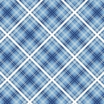 MAYWOOD STUDIO - Hi-De-Ho - Diagonal Plaid - #780