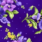 MAYWOOD STUDIO - Emma's Garden - Flowers - Purple