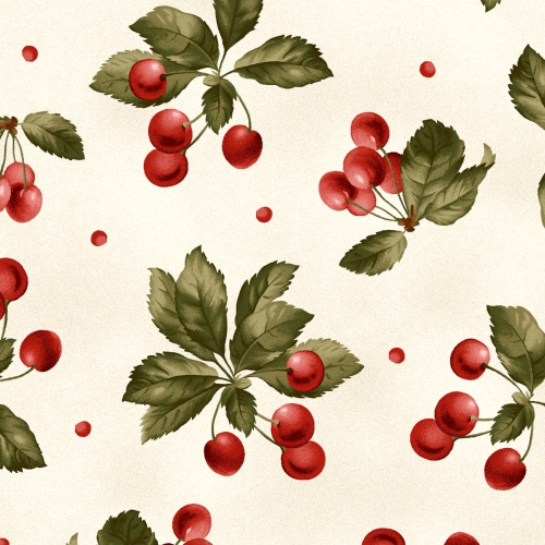 MAYWOOD STUDIO - A Fruitful Life - Cherries - Cream - #3185-