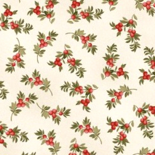 MAYWOOD STUDIO - A Fruitful Life - Berry Branches - Cream - #3190-