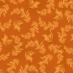 MAYWOOD STUDIO - A Fruitful Life - Tonal Leaves - Orange