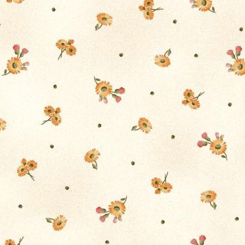 MAYWOOD STUDIO - A Fruitful Life - Tiny Daisies - Cream - #3197-