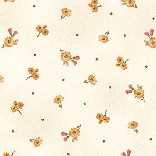 MAYWOOD STUDIO - A Fruitful Life - Tiny Daisies - Cream - #3197-