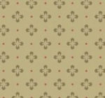 MAYWOOD STUDIO - Burgundy & Blush - Foulard Dot - Green - #2584-