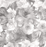 MAYWOOD STUDIO - Nocturne - Flower Bed Gray