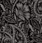 MAYWOOD STUDIO - Nocturne - Paisley Black