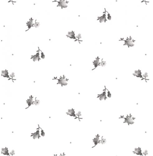 MAYWOOD STUDIO - Nocturne - Little Buds Ultra White - #3895-