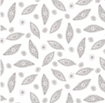 MAYWOOD STUDIO - Nocturne - Tiny Paisley Ultra White