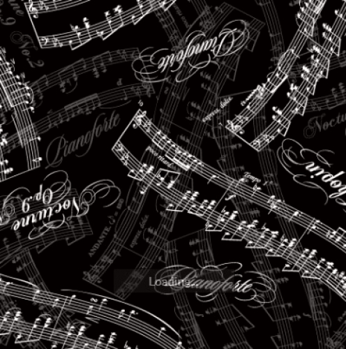 MAYWOOD STUDIO - Nocturne - Pianoforte Piano Key Black