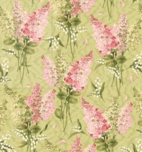 MAYWOOD STUDIO - Sensibility - Lilacs on Moire
