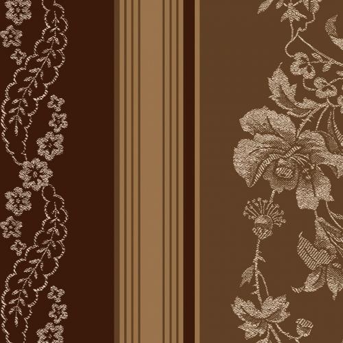MAYWOOD STUDIO - Ruby by Bonnie Sullivan - Jacquard Texture Stripe - Brown