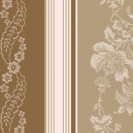 MAYWOOD STUDIO - Ruby by Bonnie Sullivan - Jacquard Texture Stripe - Tan/Brown