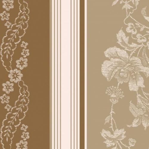 MAYWOOD STUDIO - Ruby by Bonnie Sullivan - Jacquard Texture Stripe - Tan/Brown