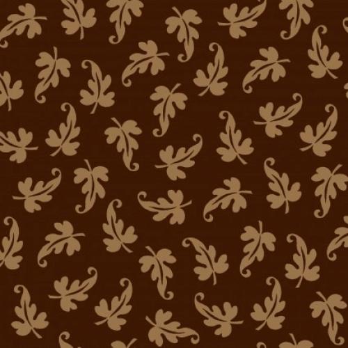 MAYWOOD STUDIO - Ruby by Bonnie Sullivan - Scroll Leaf - Espresso