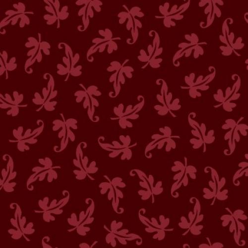 MAYWOOD STUDIO - Ruby by Bonnie Sullivan - Scroll Leaf - Red