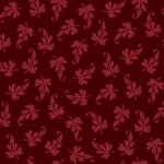 MAYWOOD STUDIO - Ruby by Bonnie Sullivan - Scroll Leaf - Red