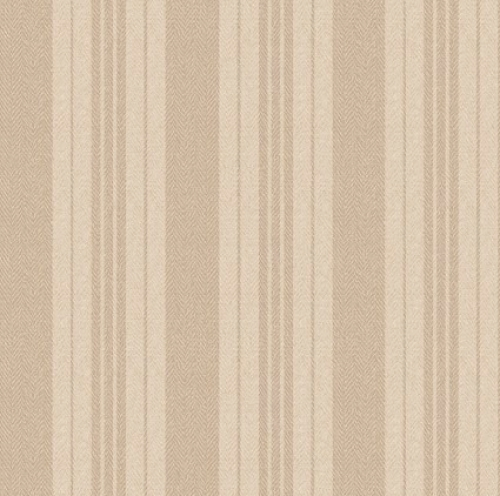 MAYWOOD STUDIO - Ruby by Bonnie Sullivan - Ticking Stripe - Ecru