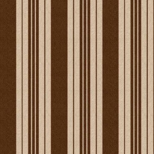 MAYWOOD STUDIO - Ruby by Bonnie Sullivan - Ticking Stripe - Tan Brown