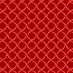 MAYWOOD STUDIO - Sommersville - Geometric - Red