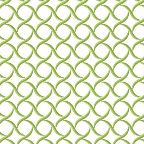 MAYWOOD STUDIO - Sommersville - Geometric - White Green