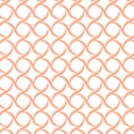 MAYWOOD STUDIO - Sommersville - Geometric - White Peach
