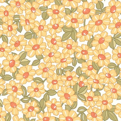 MAYWOOD STUDIO - Sunlit Blooms - Packed Daisy - Sunshine