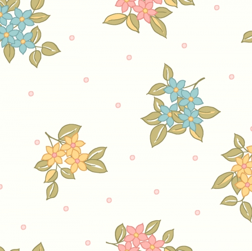 MAYWOOD STUDIO - Sunlit Blooms - Dots And Blooms - Soft White