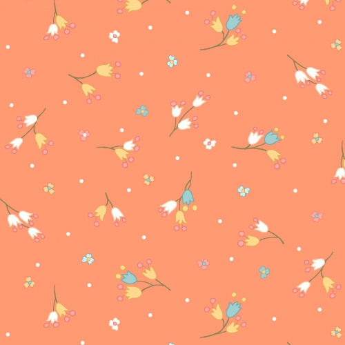 MAYWOOD STUDIO - Sunlit Blooms - Blooming Buds - Orange