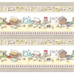MAYWOOD STUDIO - Measure Twice by Kris Lammers - Sewing Table Border - Sunshine