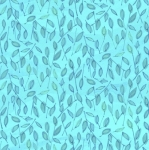MAYWOOD STUDIO - Quilter's Road Trip - Leaves Aqua