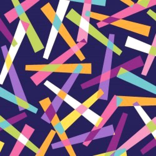 MAYWOOD STUDIO - Good Vibrations - Pick Up Sticks - Navy - #2639-