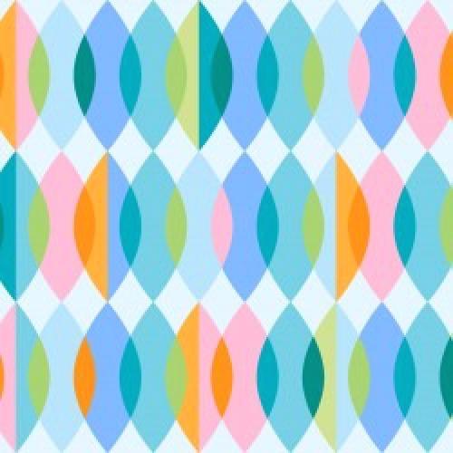 MAYWOOD STUDIO - Good Vibrations - Groovy Beads - Teal to Orange - #2638-
