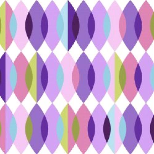 MAYWOOD STUDIO - Good Vibrations - Groovy Beads - Purple - #2631-