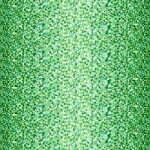 MAYWOOD STUDIO - Good Vibrations - Faceted - Green - #2639-
