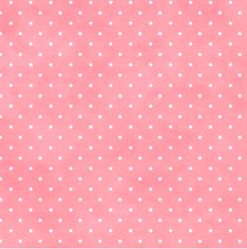 MAYWOOD STUDIO - Wild Rose Flannel - Classic Dot Flannel - Soft Pink